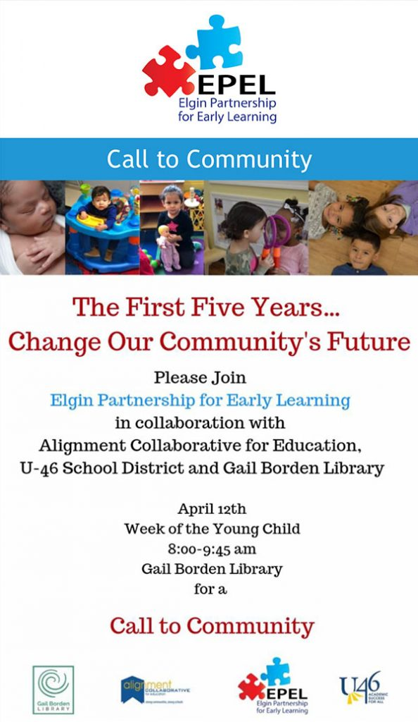 Elgin Partnership for Early Learning invitation