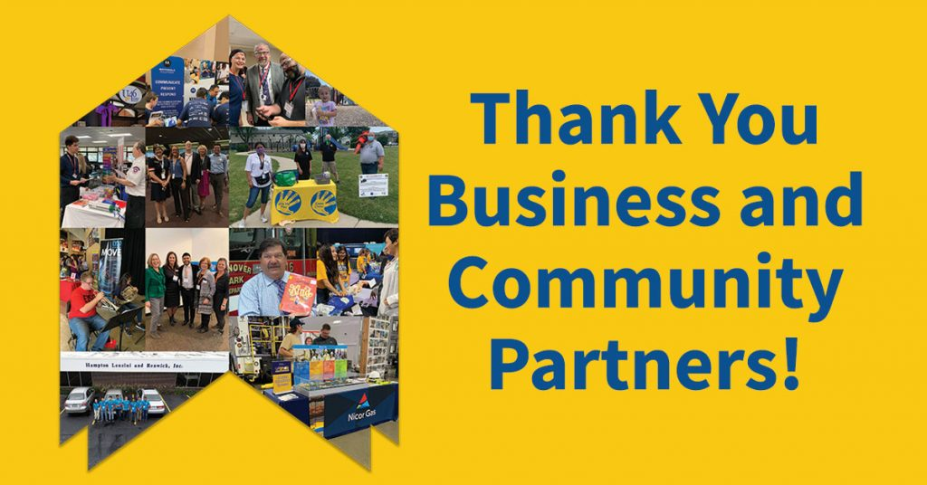 Alignment's Thank You to Business & Community Partners
